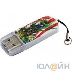 Verbatim USB Drive 16Gb Mini Tattoo Edition Dragon 049888 {USB2.0}
