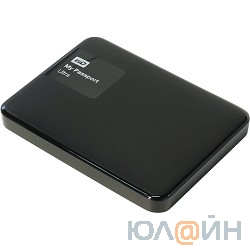 "WD Portable HDD 500Gb My Passport Ultra WDBBRL5000ABK-EEUE {USB3.0, 2.5"", black}"