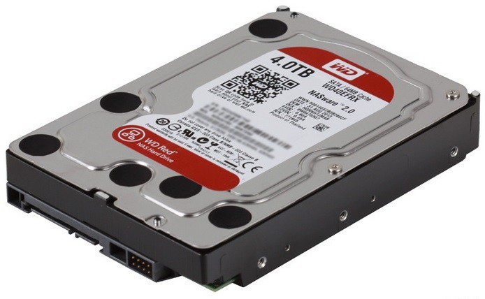 "4TB WD Red (WD40EFRX) {Serial ATA III, 5400- rpm, 64Mb, 3.5""}"