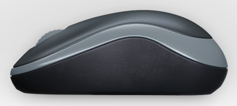 910-002238 Logitech Wireless Mouse M185 dark grey USB