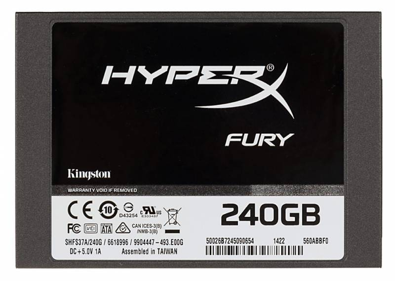 Kingston SSD 240GB HyperX Fury SHFS37A/240G {SATA3.0}